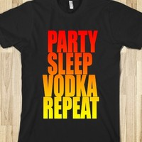 C - Party (Vodka, Repeat)
