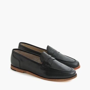Women's Ryan Penny Loafers In Leather - Women's Flats | J.Crew