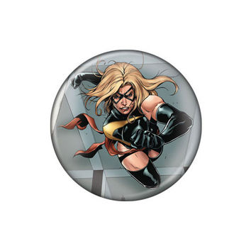 Ms. Marvel On The Move Button