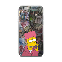 Rich Bart Simpson iPhone 4 4s 5 5s 5C 6 6s 6 Plus 6s Plus 7 & 7 Plus Case