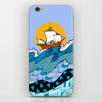 Sailing the High Seas iPhone & iPod Skin by Gretzky