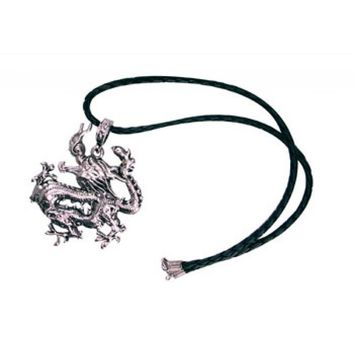 Chinese  Silver Dragon Necklace