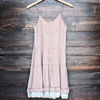 mimosas on the beach dress - vintage beige