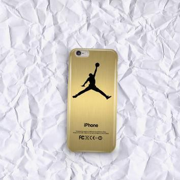 air jordan gold custom design for all device