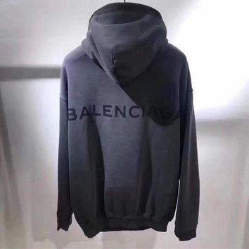 Balenciaga Fashion Hooded Top Pullover Sweater Hoodies