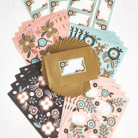 Botani-call or Write Stationery Set by ModCloth