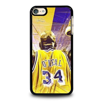 SHAQUILLE O'NEAL LA LAKERS iPod Touch 6 Case Cover