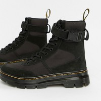 Dr Martens Combs Black Utility Boots at asos.com