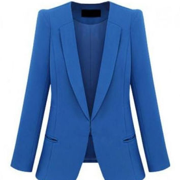 Jet Pockets Blue Blazers