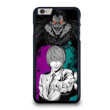 light and ryuk death note iphone 6 6s plus case cover  number 1
