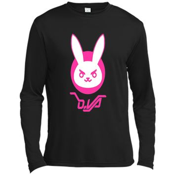 Overwatch D.VA Bunny Spray Tee Shirt