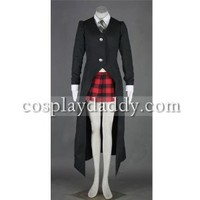 HOLRAN Soul Eater Maka Albarn Cosplay Costume Customized Any Size