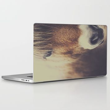 The curious girl Laptop & iPad Skin by HappyMelvin | Society6
