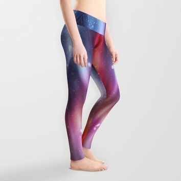 Even in darkness there´s light Leggings by HappyMelvin | Society6