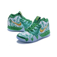Nike Kyrie 4 PE Multi Green - Best Deal Online