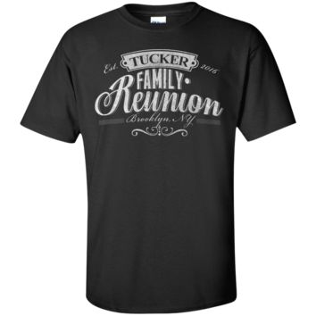 Tucker Family Reunion 2016 Unisex Custom Ultra Cotton T-Shirt