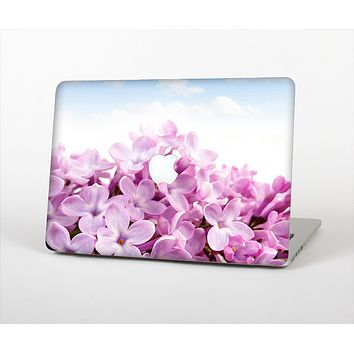 The Blue Sky Pink Flower Field Skin Set for the Apple MacBook Air 13""