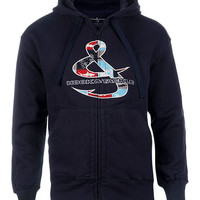 Men's Mako Zip Fishing Hoodie Jacket