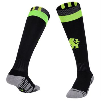 2017 NewOutdoor Breathable Men Compression Socks Athletic Running Socks Thickened Towel Non-slip Football Sports Sock #EW