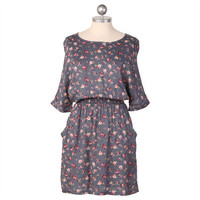 1000 fragrant posies pocket dress