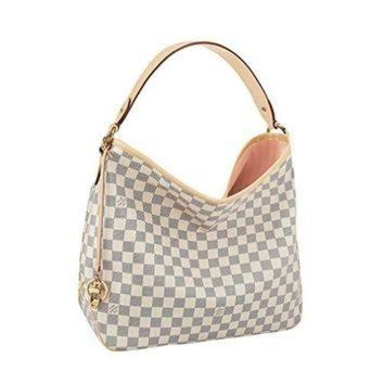 LMFON Tagre? Louis Vuitton Damier Canvas Delightful MM Handbag Article :N41607 Made in France Louis Vuitton Bag