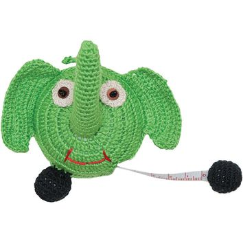 "Paradise Crocheted Tape Measure 60""-Elephant"