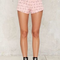 House of Cards Cindy High-Waisted Shorts