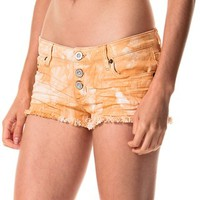 RVCA Mind Traveler Cutoff Denim Shorts (For Women)