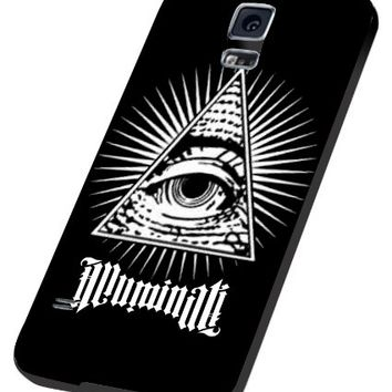 New Illuminati Eye of God Samsung Galaxy S4 S5 S6 Case (samsung s5 black)