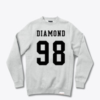 Diamond Supply Co. - Nine Eight Crew - White