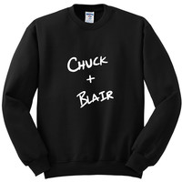 "Gossip Girl ""Chuck + Blair"" Crewneck Sweatshirt"