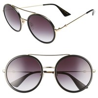 Gucci 56mm Round Sunglasses | Nordstrom