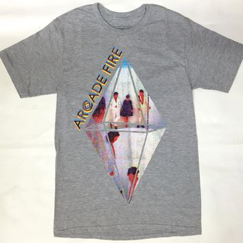 Arcade Fire CRYSTAL PEOPLE T-Shirt NWT Licensed & Official RARE!!!