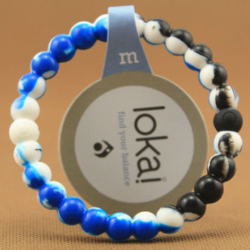 Big Sale on Lokai - Blue and Black