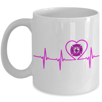 Firefighter - Girlfriend - Lifeline - Mug