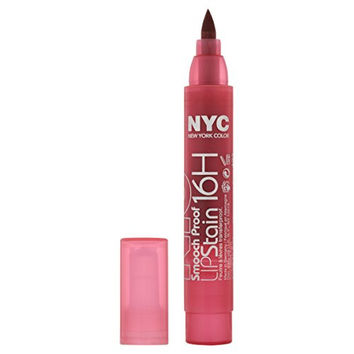 New York Color Smooch Proof Lip Stain, Champagne Stain, 0.1 Fluid Ounce
