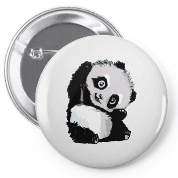happy panda Pin-back button