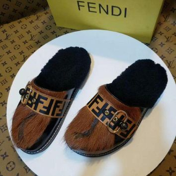 DCCK Fendi women Casual Shoes Boots fashionable casual leather