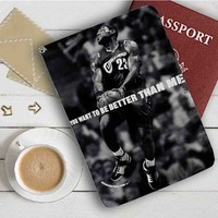 Lebron James Basketball Leather Passport Wallet Case Cover
