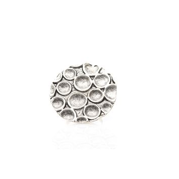 Antique Silver Plated Ring Adjustable