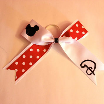 Disney Inspired Cheer Bow