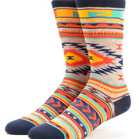 Stance Girls Tribute Native Print Crew Socks at Zumiez : PDP