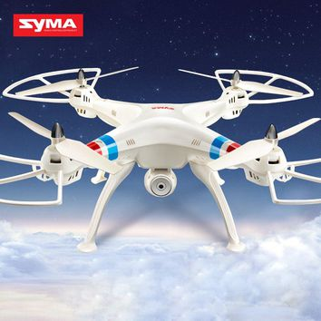 Professional RC Drones Syma X8C Quadcopter With Camera 4CH 2.4GHz RC Helicopter 360 degree 3D fly RC helicopter Toys Drone Dron