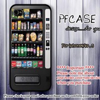 Snacks vending machine Case For Iphone 44s 5 Samsung S2S3S4 by pfcase on Zibbet