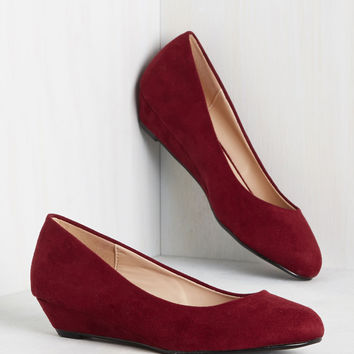 Secret Steppin' Wedge | Mod Retro Vintage Heels | ModCloth.com