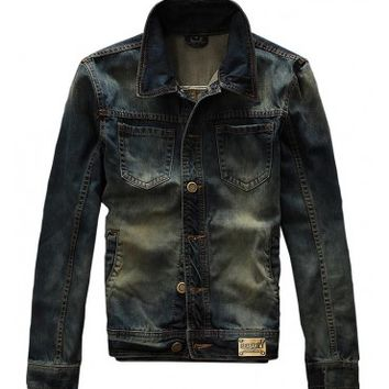Seabar 002 Premium Denim Jacket - leatherandcotton