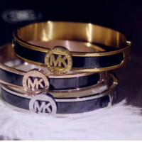 MK new steel bracelet for girls and women