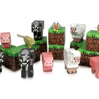 J!NX : Minecraft Paper Craft Animal Mobs