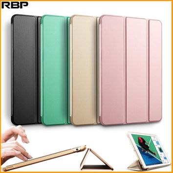 RBP for new ipad 2017 protective sleeve for ipad 2017 cover dormant all-inclusive models the A1822 for Apple ipad 9.7 case cover