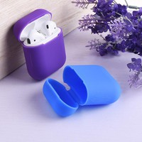 SIANCS Silicone Shock Proof Protector Sleeve For Apple AirPods Case Skin Cover for AirPods Wireless Earphone Charging box Case